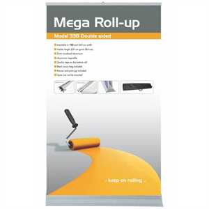 Billig dobbeltsidet Mega Roll up